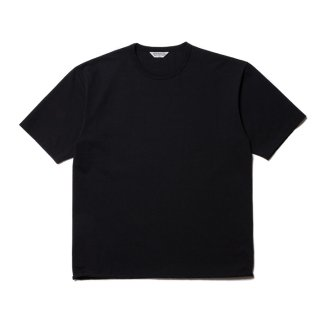 COOTIE/PLAIN CREWNECK S/S TEE/ブラック