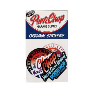 PORKCHOP/GRADATION STICKER SET