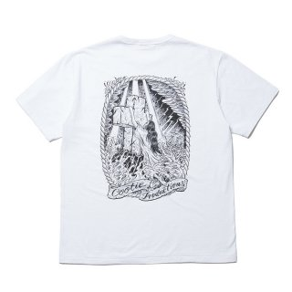 COOTIE/PRINT S/S TEE(ROCK OF AGES)/ホワイト