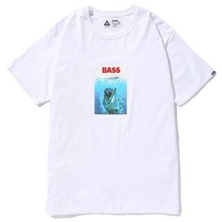 CHALLENGER/BASS BITE TEE/ホワイト