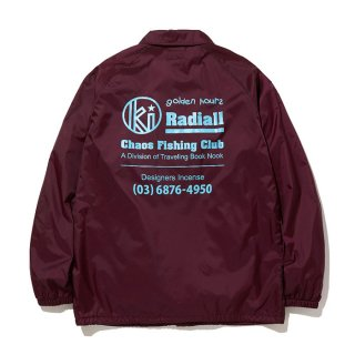RADIALL/GOLDEN HOURS-WINDBREAKER JACKET/バーガンディー【40%OFF】<img class='new_mark_img2' src='https://img.shop-pro.jp/img/new/icons20.gif' style='border:none;display:inline;margin:0px;padding:0px;width:auto;' />
