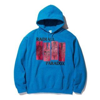 RADIALL/SST-HOODIE SWEATSHIRT L/S/ブルー