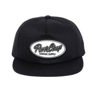 PORKCHOP/SCRIPT TRUCKER CAP/ブラック