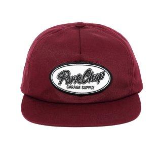 PORKCHOP/SCRIPT TRUCKER CAP/バーガンディー