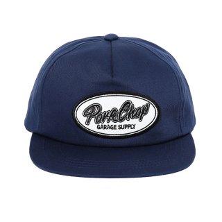 PORKCHOP/SCRIPT TRUCKER CAP/ネイビー