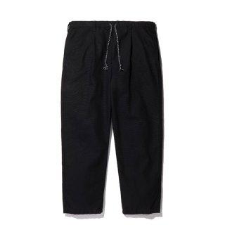 RADIALL/SUBURBAN-STRAIGHT FIT EASY PANTS/ブラック