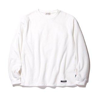 RADIALL/GRID-CREW NECK T-SHIRT L/S/ホワイト