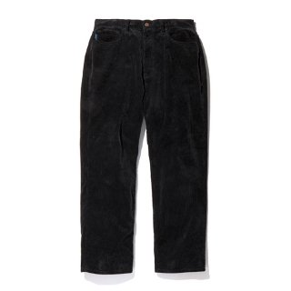 RADIALL/MOTOWN-WIDE FIT PANTS/ブラック