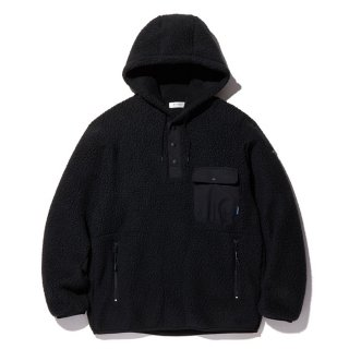 RADIALL/SMOKEY CAMPER-HOODED SHIRTL/S