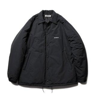 COOTIE/NYLON PADDED COACH JACKET/ブラック