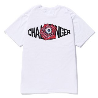 CHALLENGER/10TH ROSE LOGO TEE