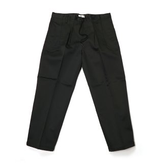 RADIALL/THAT BEAT-WIDE FIT EASY PANTS/ブラック