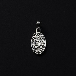 ANTIDOTE/ENGRAVED PLATE PENDANT