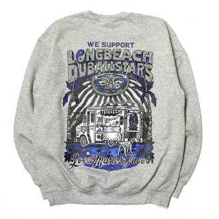 RADIALL/LONG BEACH C.N. SWEATSHIRT L/S/グレー