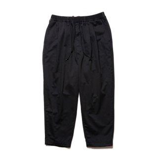 COOTIE/T/C 2 TUCK EASY PANTS/ブラック