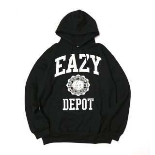 RADIALL/EAZY DEPOT-HOODIESWEATSHIRT L/S/ブラック