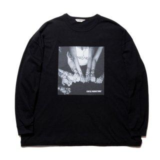 COOTIE/PRINT L/S TEE(CHOLA)/ブラック