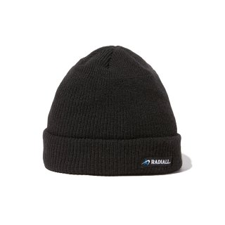 RADIALL/C-10-WATCH CAP/ブラック