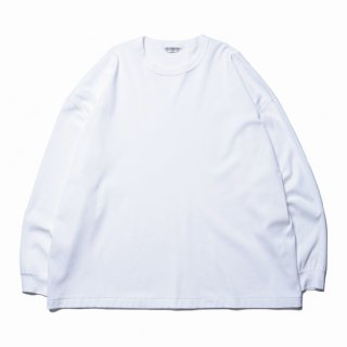 COOTIE/SUPLIMA COTTON HONEYCOMB THERMAL L/S TEE/ホワイト