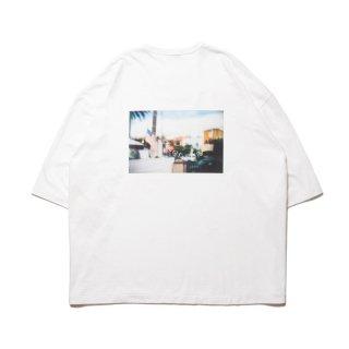COOTIE/PRINT S/S TEE(BARRIO)/ホワイト