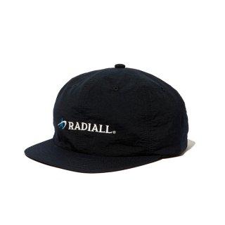 RADIALL/LOGOTYPE-BASEBALL CAP/ブラック