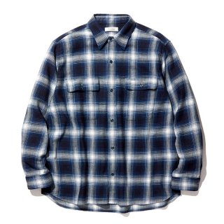 RADIALL/MACKTEN-REGULAR COLLARED SHIRT L/S