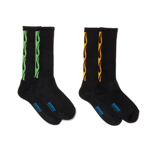 RADIALL/2PAC SOX-FLAMES/ブラック