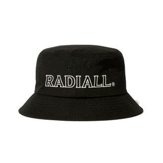 RADIALL/LOGOTYPE-BUCKET HAT