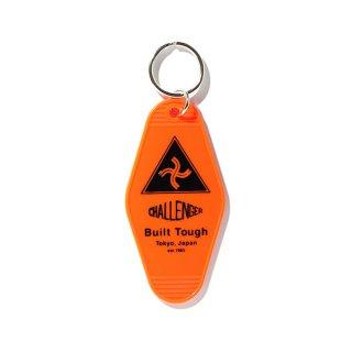 CHALLENGER/BUILT TOUGH KEY RING/オレンジ