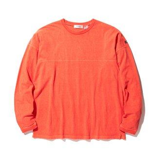 RADIALL/EL CAMINO-CREW NECK T-SHIRT L/S/ブラッドオレンジ