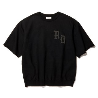 RADIALL/CRUISE-CREW NECK SWEAT SHIRT S/S/ブラック
