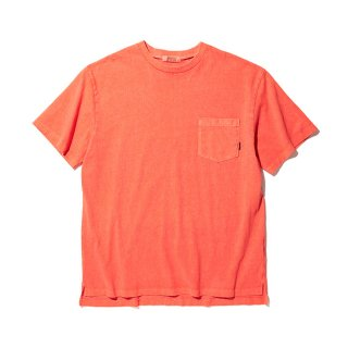 RADIALL/EL CAMINO-CREW NECK POCKET T-SHIRT S/S/ブラッドオレンジ