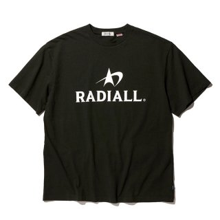 RADIALL/LOGOTYPE-CREW NECK T-SHIRT S/S/ブラック【20%OFF】<img class='new_mark_img2' src='https://img.shop-pro.jp/img/new/icons20.gif' style='border:none;display:inline;margin:0px;padding:0px;width:auto;' />