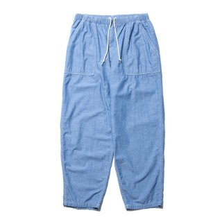 COOTIE/CHAMBRAY BAKER EASY PANTS