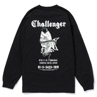 CHALLENGER/L/S GOLD FISH TEE/ブラック