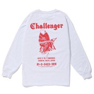 CHALLENGER/L/S GOLD FISH TEE/ホワイト
