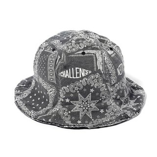 CHALLENGER/BANDANA HAT/ブラック