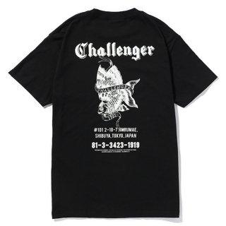 CHALLENGER/GOLD FISH TEE/ブラック