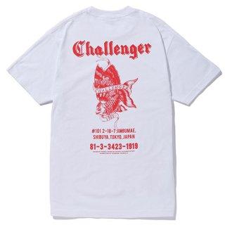CHALLENGER/GOLD FISH TEE/ホワイト