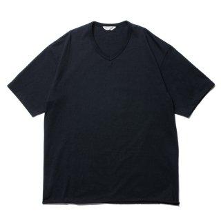 COOTIE/PLAIN V-NECK S/S TEE/ブラック