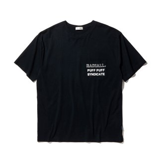 RADIALL/SYNDICATE-CREW NECK POCKET T-SHIRT S/S/ブラック【20%OFF】<img class='new_mark_img2' src='https://img.shop-pro.jp/img/new/icons20.gif' style='border:none;display:inline;margin:0px;padding:0px;width:auto;' />