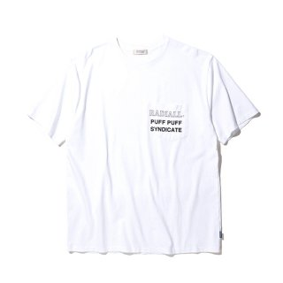 RADIALL/SYNDICATE-CREW NECK POCKET T-SHIRT S/S/ホワイト【20%OFF】<img class='new_mark_img2' src='https://img.shop-pro.jp/img/new/icons20.gif' style='border:none;display:inline;margin:0px;padding:0px;width:auto;' />