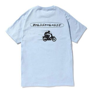 CHALLENGER/CLGR RACING TEE/パウダーブルー
