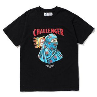 CHALLENGER/EARTH TEE/ブラック