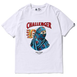CHALLENGER/EARTH TEE/ホワイト
