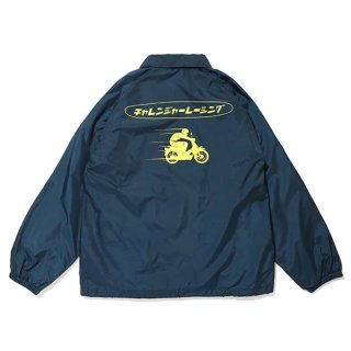 CHALLENGER/CLGR RACING COACH JACKET/ネイビー