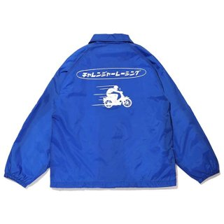 CHALLENGER/CLGR RACING COACH JACKET/ブルー