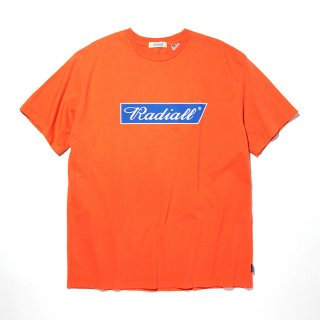 RADIALL/FLAGS-CREW NECK T-SHIRT S/S/オレンジ【20%OFF】<img class='new_mark_img2' src='https://img.shop-pro.jp/img/new/icons20.gif' style='border:none;display:inline;margin:0px;padding:0px;width:auto;' />