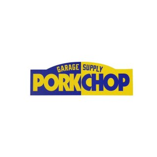 PORKCHOP/PORKCHOP BLOCK STICKER