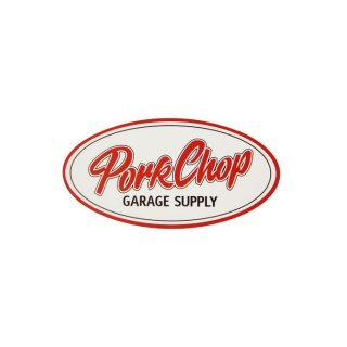 PORKCHOP/PORKCHOP OVAL STICKER/SMALL